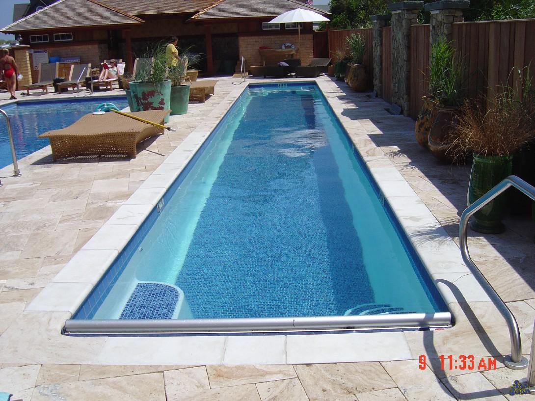atlantic pool shape behind large curved house in large. Black Bedroom Furniture Sets. Home Design Ideas