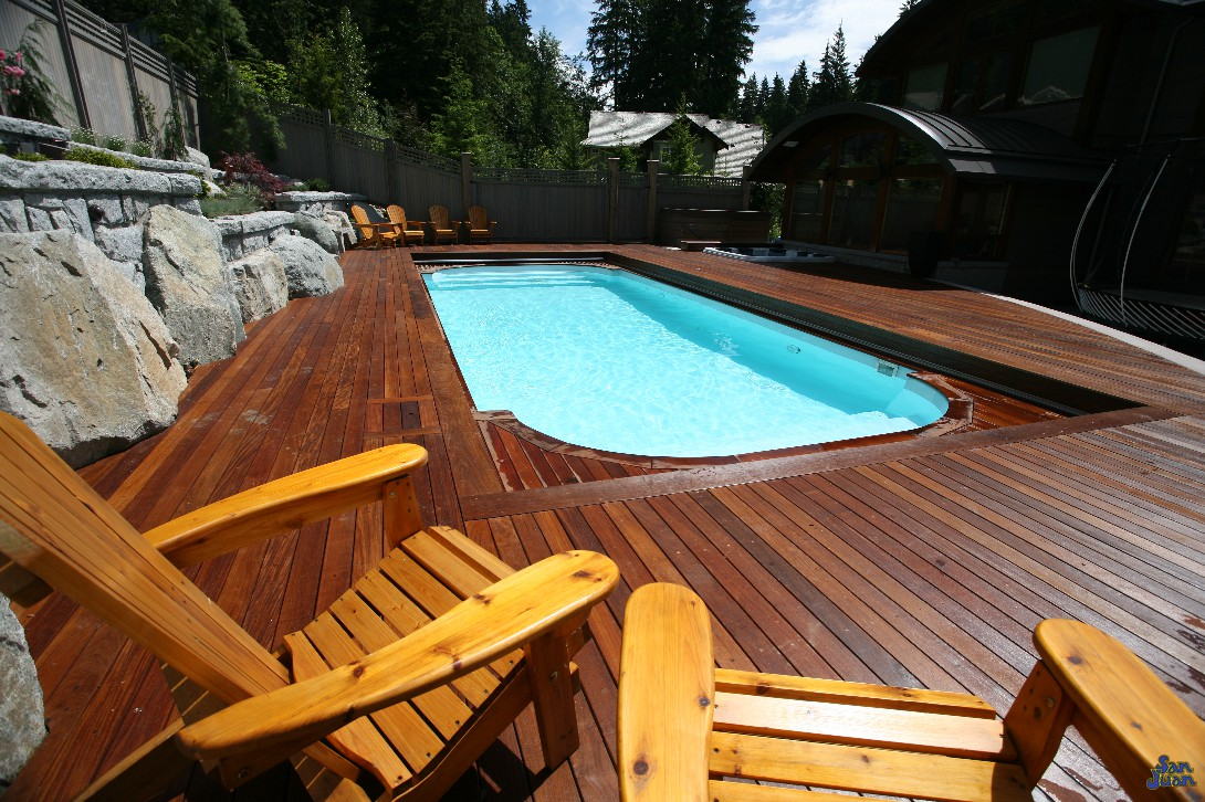 Custom Inground Fiberglass Pools