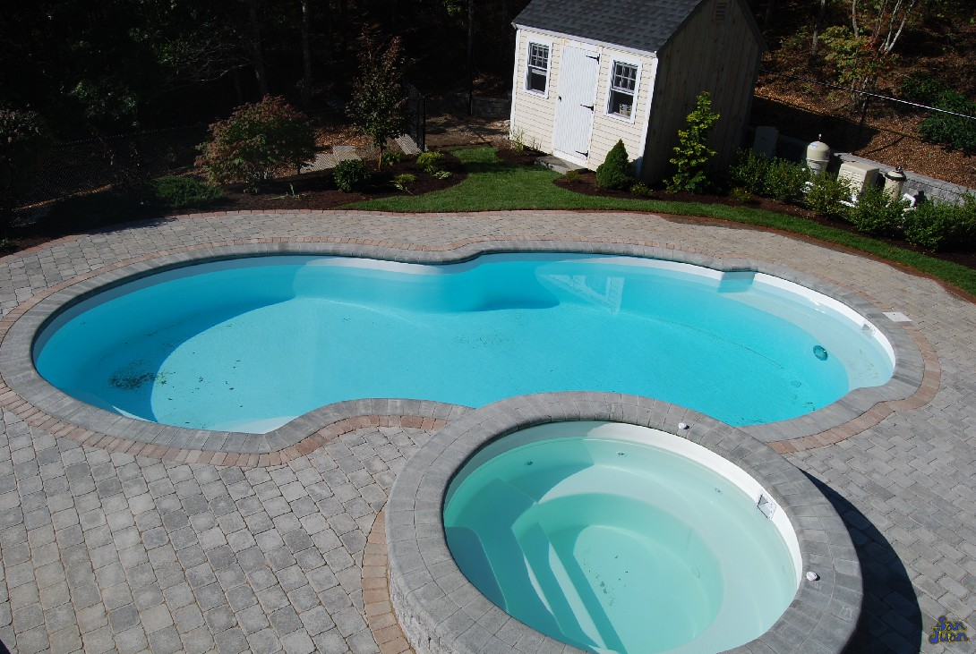 Fiberglass Pool And Spa Shell