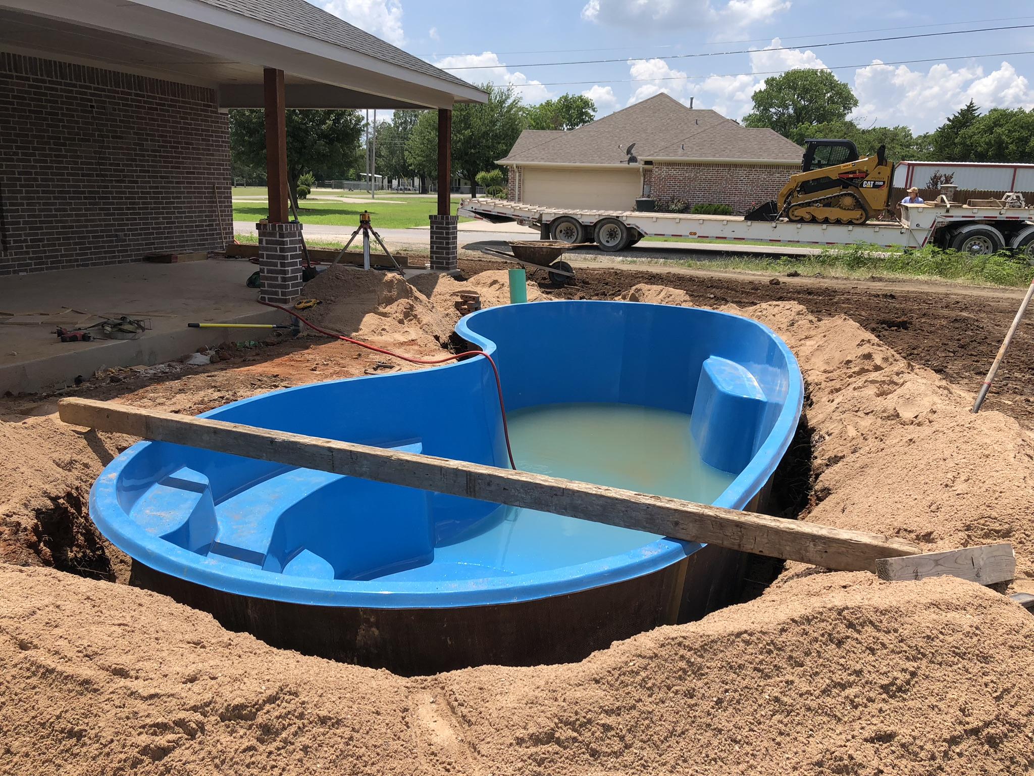 The Seaside Fiberglass Pool