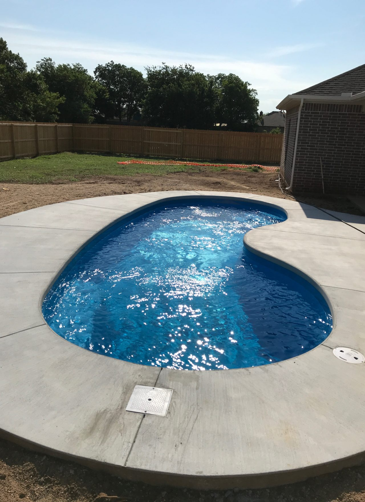 The Tioga Job – Seaside Pool With a Poured Concrete Deck