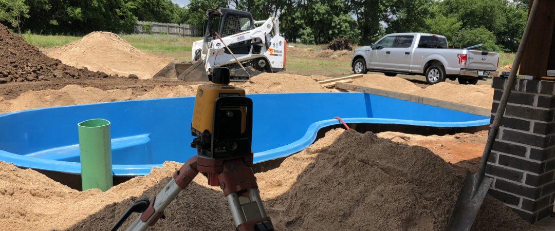 The Seaside Fiberglass Pool – New Pool Installation