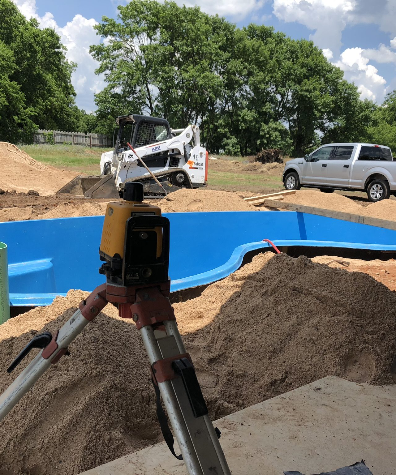 The Seaside Fiberglass Pool – New Pool Installation