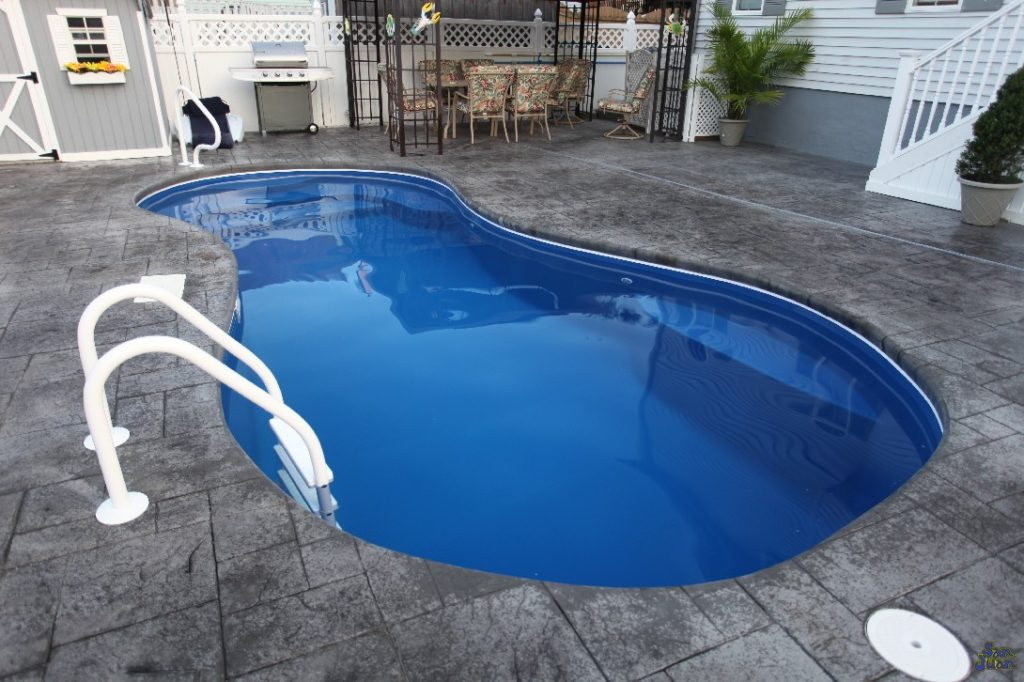 "Welcome to the Cocoa Beach; a beautiful a dazzling fiberglass pool that is ready for you to bring it home! We consider this pool model to be part of our Petite Lineup of fiberglass pools. It's 23' 9"" is perfect for those with small backyards and who live in Urban Landscapes."