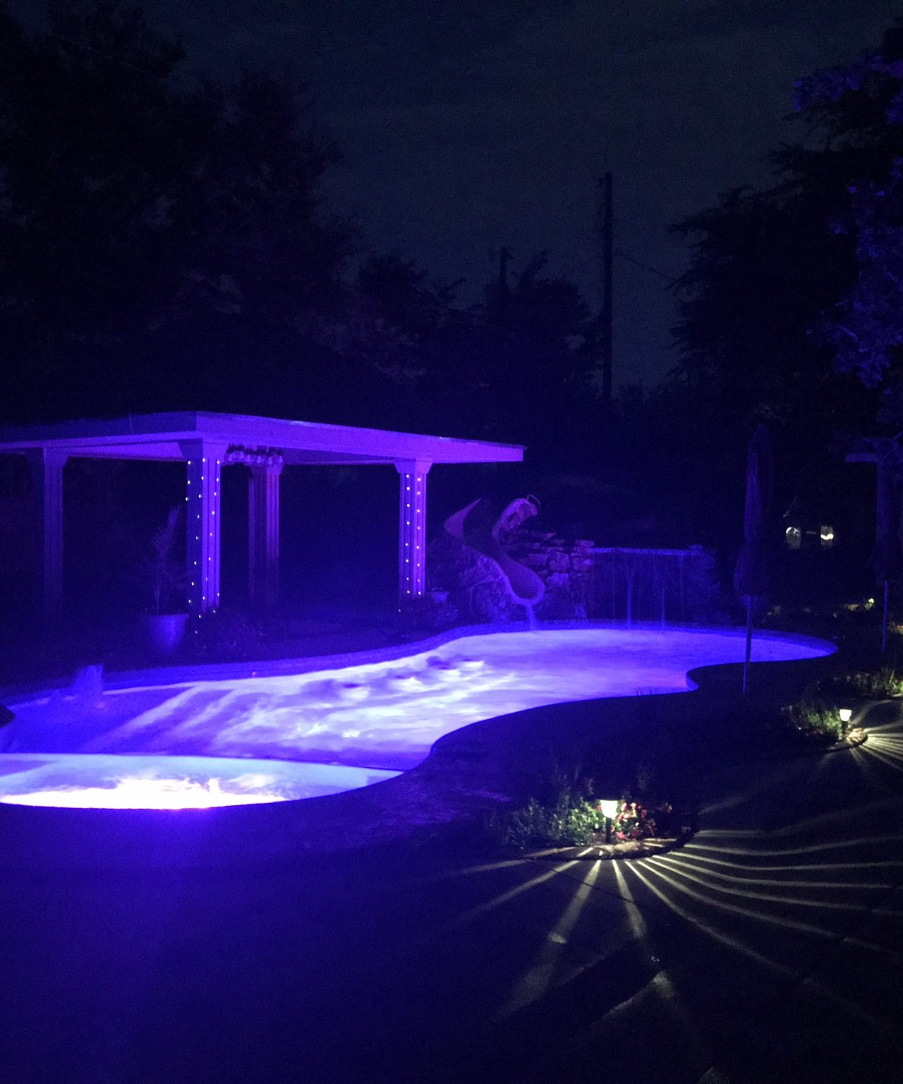 PLEASURE ISLAND FIBERGLASS POOL SHELL – INSTALLED IN DENISON