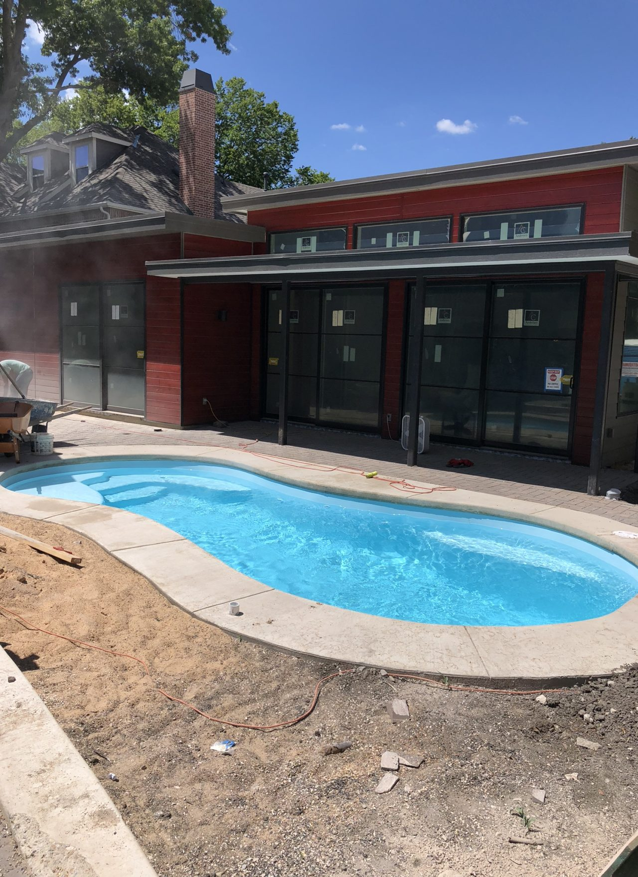 The Sundial Pool at University Park – Job Completion Photos