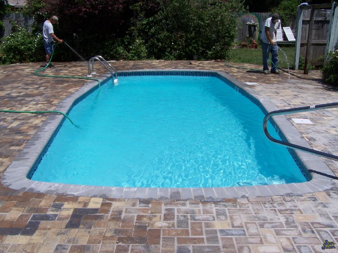Fiberglass Pool Guyz The Waikiki I Fun Swimming Pool