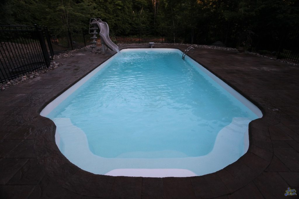 """The 7' 10"""" Deep End is a perfect place to situate a diving board or twisting water slide! So what are you waiting for? Hop in and cool off this summer in the crisp and beautiful deep end!"""