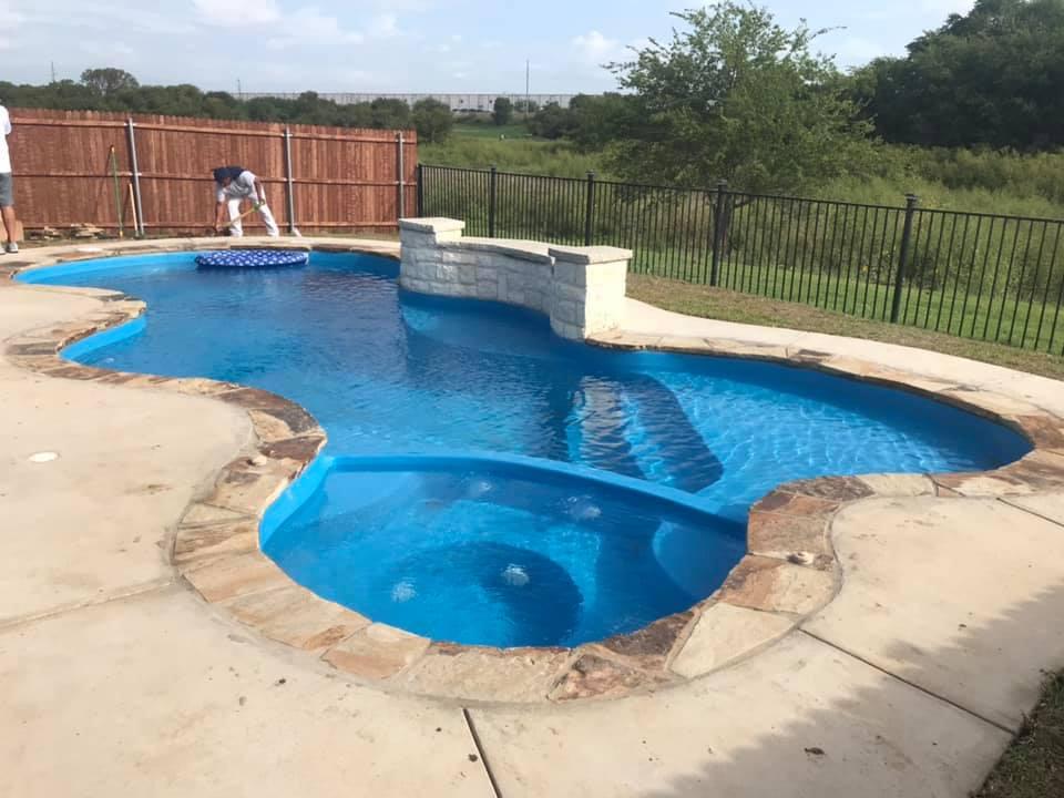 Installation: The Desert Springs, Fort Worth TX (Phase #2)