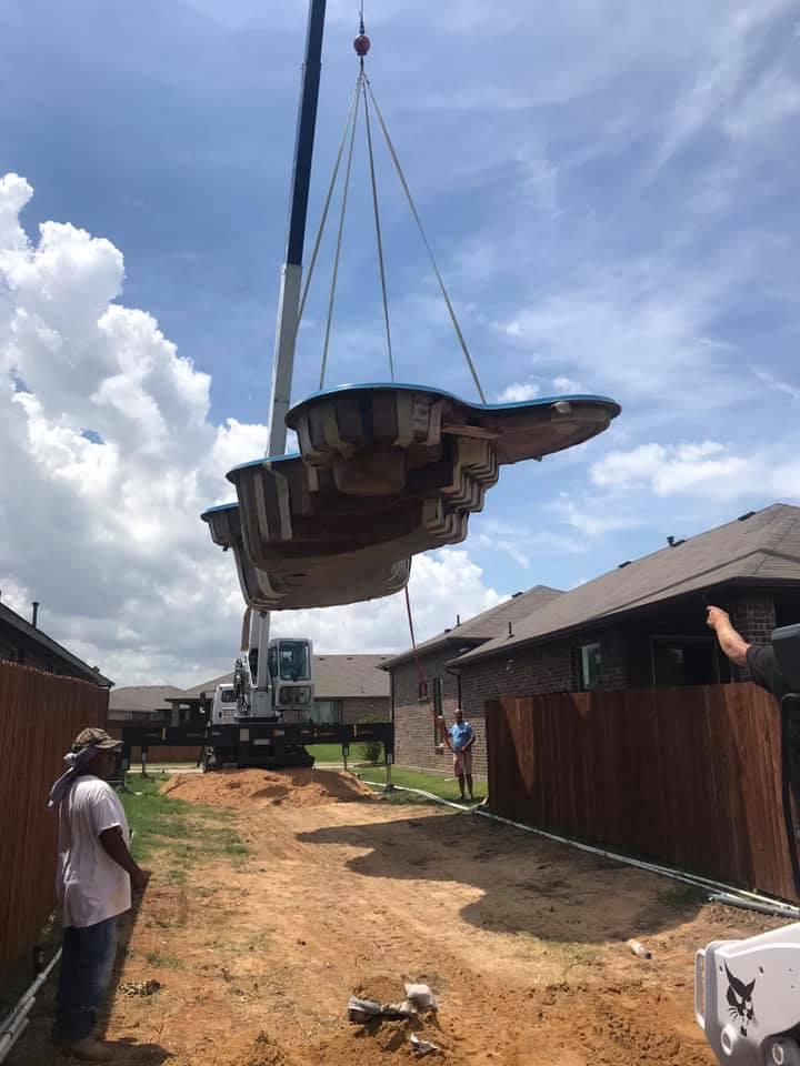 Installation: The Desert Springs, Fort Worth TX (Phase #1)